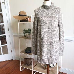 Zara Knit turtle neck sweater small
